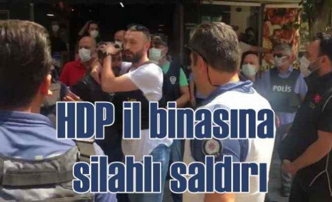 HDP İl binasına kanlı baskın, 1 kişi hayatını kaybetti
