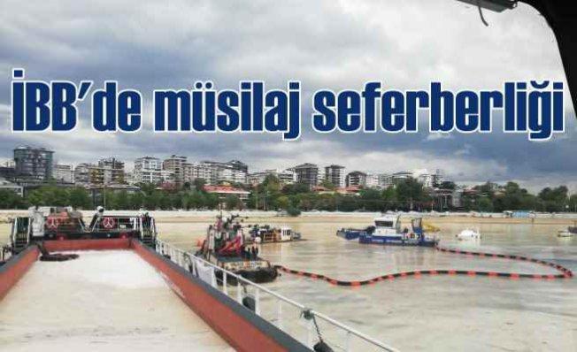 İBB, Marmara Denizi'nden müsilaj toplama rekoru kırdı