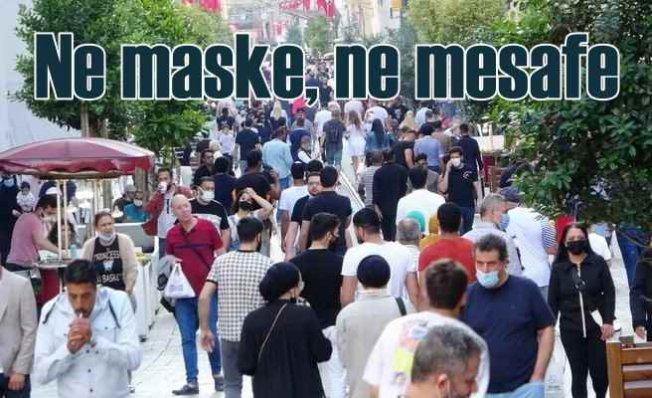 Karantina günleri unutlu | Maskeler çıkardı, sosyal mesafe kaktı
