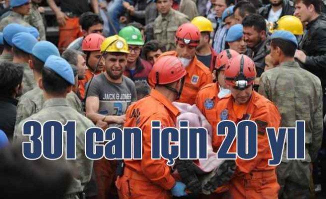 Soma Maden Faciası | 301 can için 20 yıl hapis