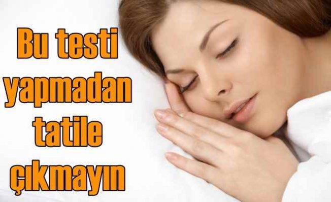 7 soruda uyku apnesi testi | Bu hastalık trafik kazalarını artırıyor!