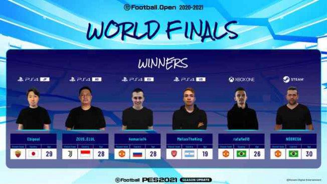 eFootball Open Şampiyonları belli oldu