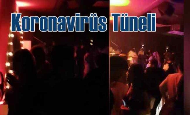 Koronavirüs tüneli | Eğlence mekanı için tünel açmışlar