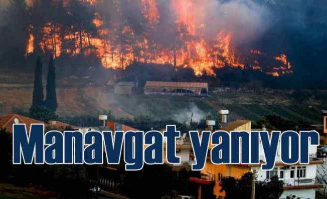 Manavgat'ta son durum | Yangın köyleri dağları küle çevirdi