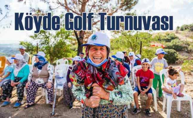 Sabancı Vakfı Düzenledi   Köyde golf turnuvası