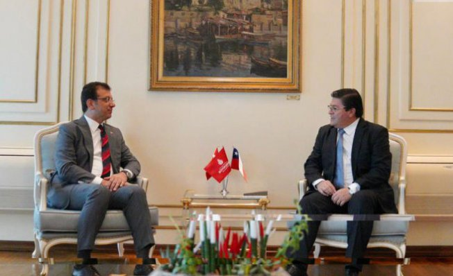 Şili Cumhuriyeti Büyükelçisi İstanbul'a ilk resmi ziyaretini yaptı
