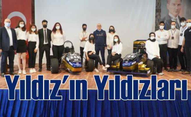 YTÜ Racing Takımı Formula Student için 10 yılda 6 araç üretti
