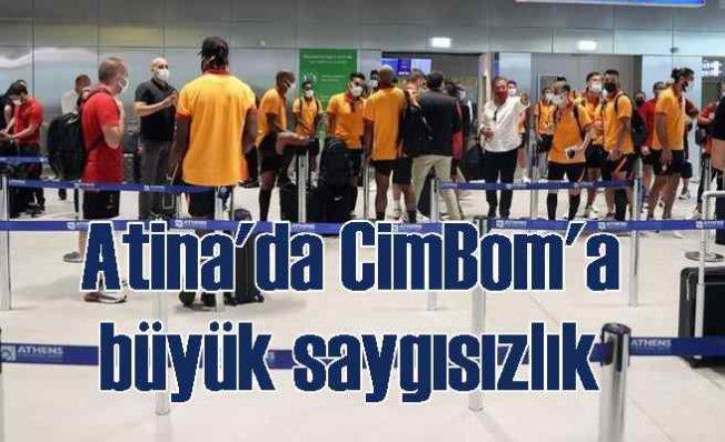 Yunanistan'da Galatasaray'a skandal uygulama   Ekip geri dönüyor