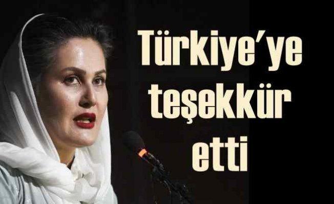 Afgan kadın sinemacı Karimi Türkiye'ye teşekkür etti