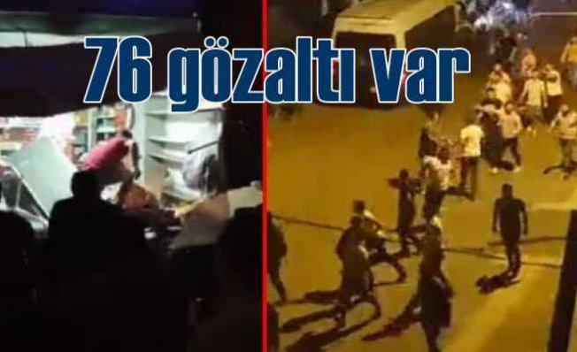Altındağ'da son durum   76 gözaltı var