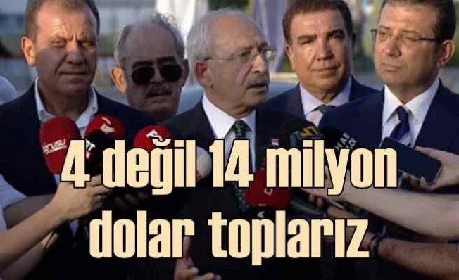 CHP Lideri Kılıçdaroğlu THK için konuştu | 14 milyon dolar toplarız