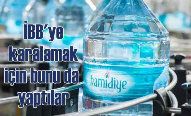 Hamidiye, bakanlık onaylı suyu satıyor