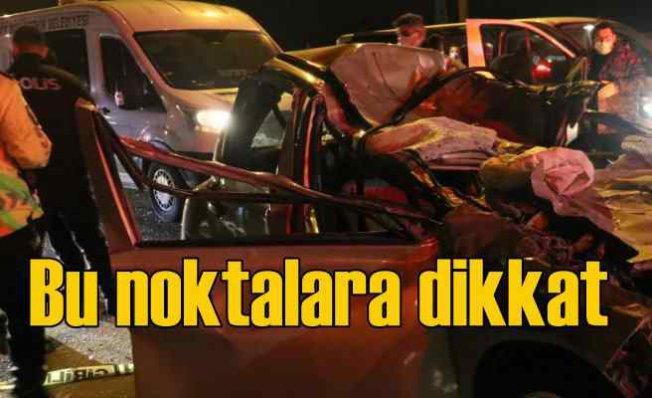 İzmir'in kara noktaları | En çok kaza buralarda oluyor