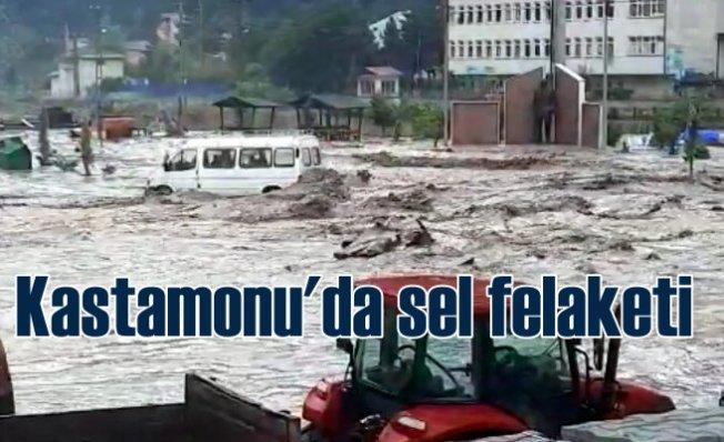 Kastamonu'da sel felaketi | 8 ilçede sel suları evleri bastı