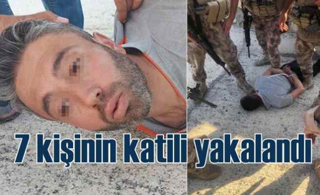 Konya'da 7 kişinin katili Mehmet Altun yakalandı