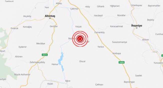 Kütahya'da deprem | Kütahya 5.0 ile sallandı