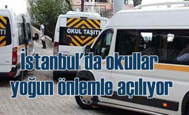 Okullar açılıyor   İstanbul'da hangi önlemler alınıyor?
