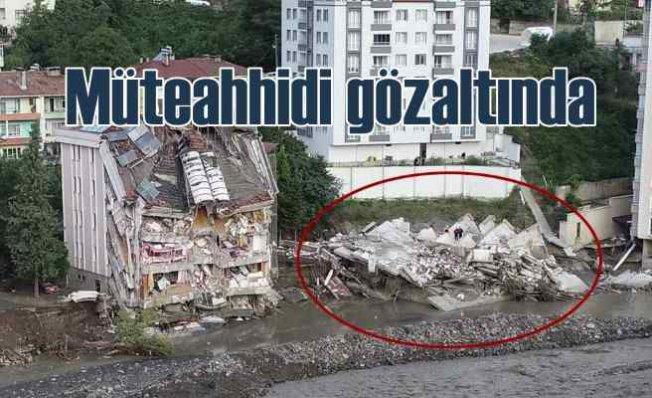 Ölçer Apartmanı Faciası | Müteahhit İstanbul'da gözaltına alındı