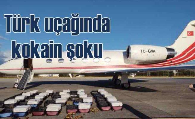 Türk uçağında skandal kargo   1304 kilo kokain çıktı