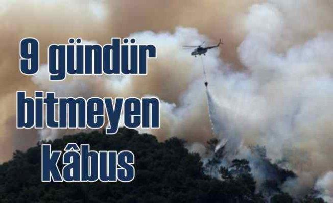 Türkiye'nin ormanları 9 gündür yanıyor | Alevlerin önü kesilemedi
