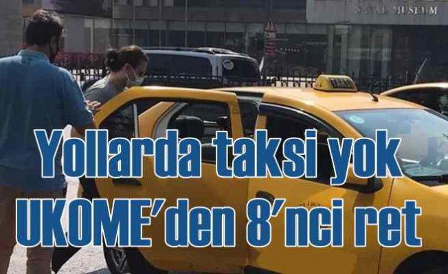UKOME'den İstanbullu'ya Taksi cezası
