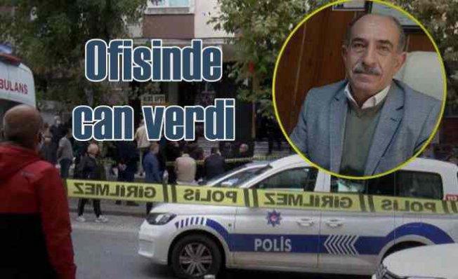 Ali Rıza Önderoğlu'nun ölümü | Ofisinde can verdi