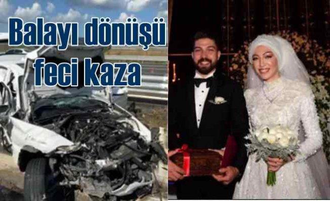 Dr. Zeynep Sezal Şerefoğlu'nun ölümü   Balayı'ndan dönüyorlardı