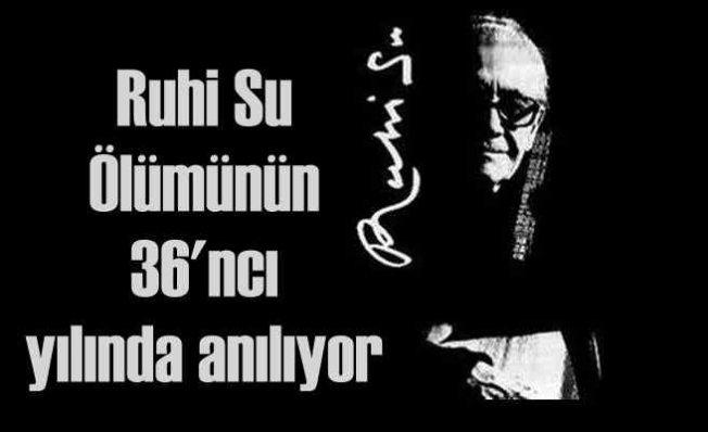 İBB, Ruhi Su'yu Türkülerle Anıyor