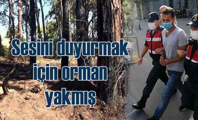 Manavgat'ta orman yangını   Zanlıyı linçten polis kurtardı
