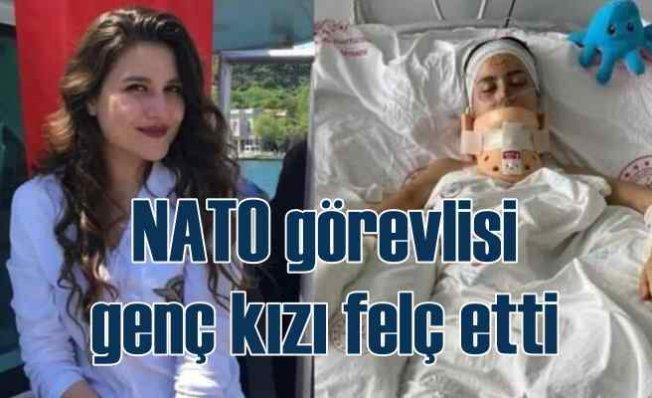 NATO görevlisi Amerikalı, genç kızı felç etti kaçtı