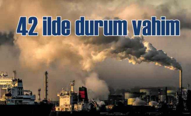 Türkiye'nin Hava Kirliliği Raporu | 42 şehirde durum vahim