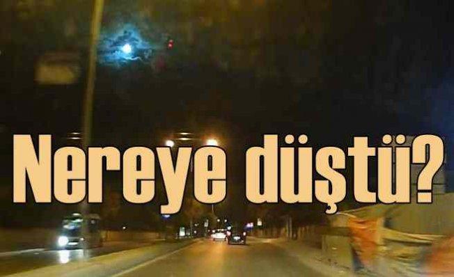 İstanbul'da göktaşı nereye düştü
