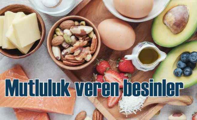 Mutluluk veren ve beyin sağlığını koruyan besinler
