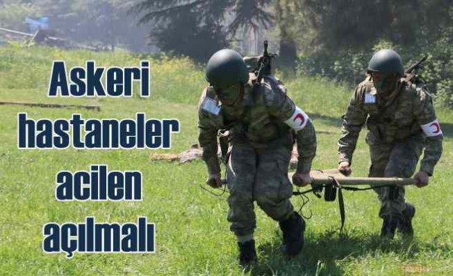 SAHİM-SEN | Askeri hastaneler açılmalı