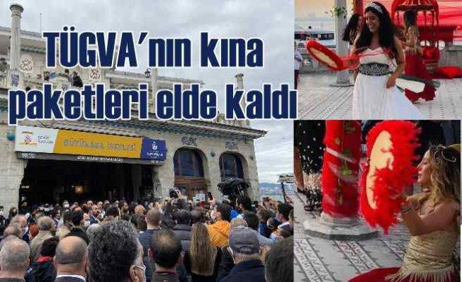 TÜGVA, tarihi iskele binasını lüks kına gecelerine vermiş