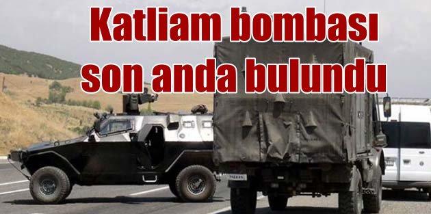300 kilo bomba ile katliama hazınlanıyorlardı