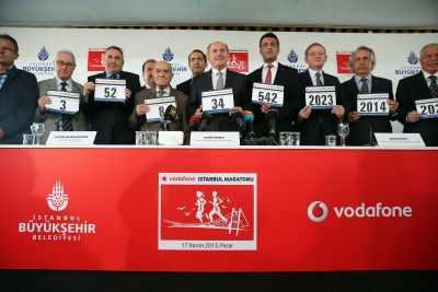 35. İstanbul Maratonu için geri sayım başladı