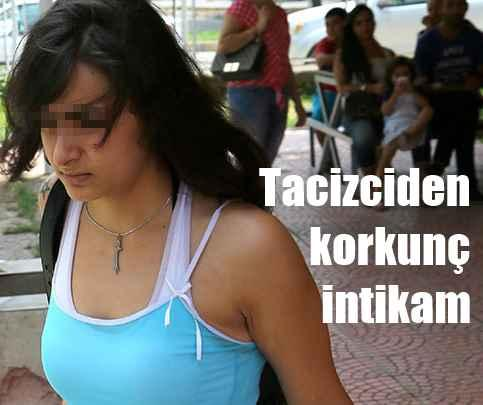 Adana bu genç kızı alkışladı, Tacizciyi şişledi