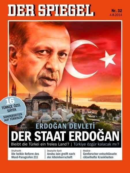 Alman dergisinden skandal, Erdoğan'a oy vermeyin