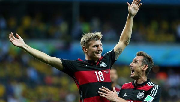 Almanya bunu 8. defa 7-1 kazandı