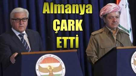 Almanya'dan Kürt devleti için çark etti