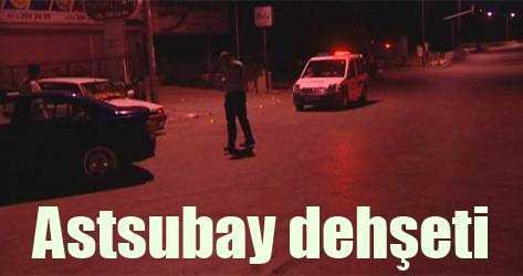 Ankara'da Astsubay dehşeti, Kimlik soran polise saldırı