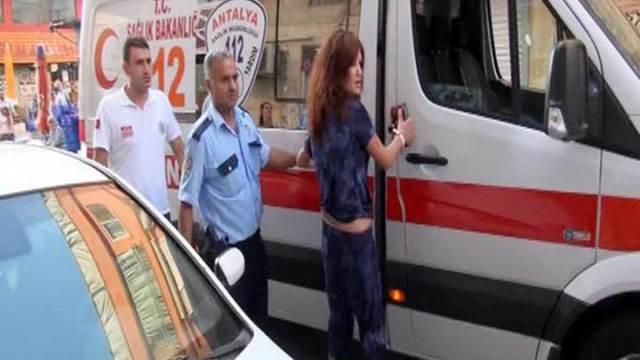 Antalya'da sevgili dehşetini polis engelledi