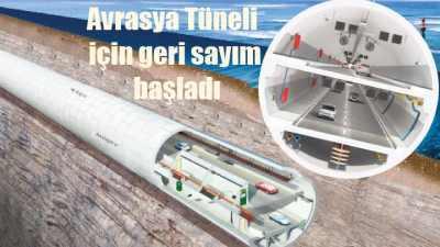 Avrasya Tüneli ne zaman açılacak