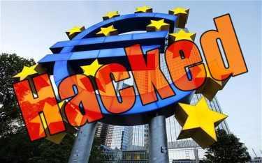 Avrupa Merkez Bankasını hacklediler