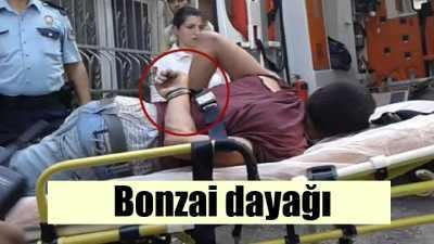 Bonzaiyi çekip küfür edince mahalleli linç etti