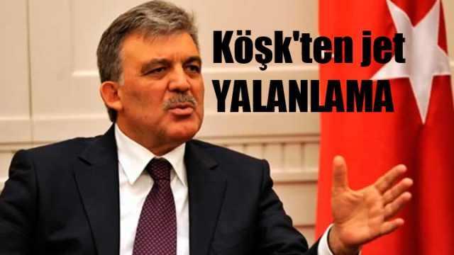 Cumhurbaşkanı Gül, yeni parti mi kurdu?