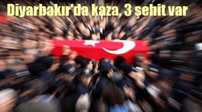 Diyarbakır'da 3 polis şehit, şehit polislerin isimleri
