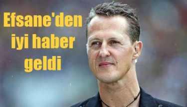 Efsane pilot Schumacher'den iyi haber var