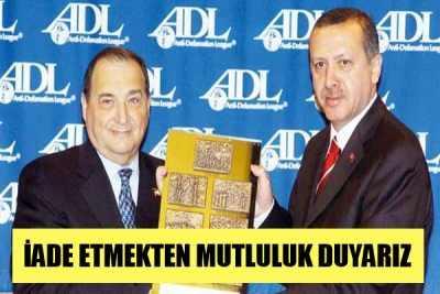 Erdoğan Cesaret Ödülü'nü geri verecek mi?